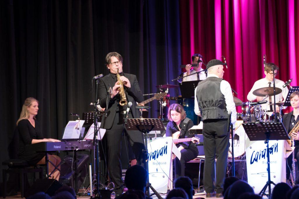 Heinz-Dieter Sauerborn und die Caravan Big Band