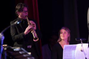 Heinz-Dieter Sauerborn und Annalena Schwade