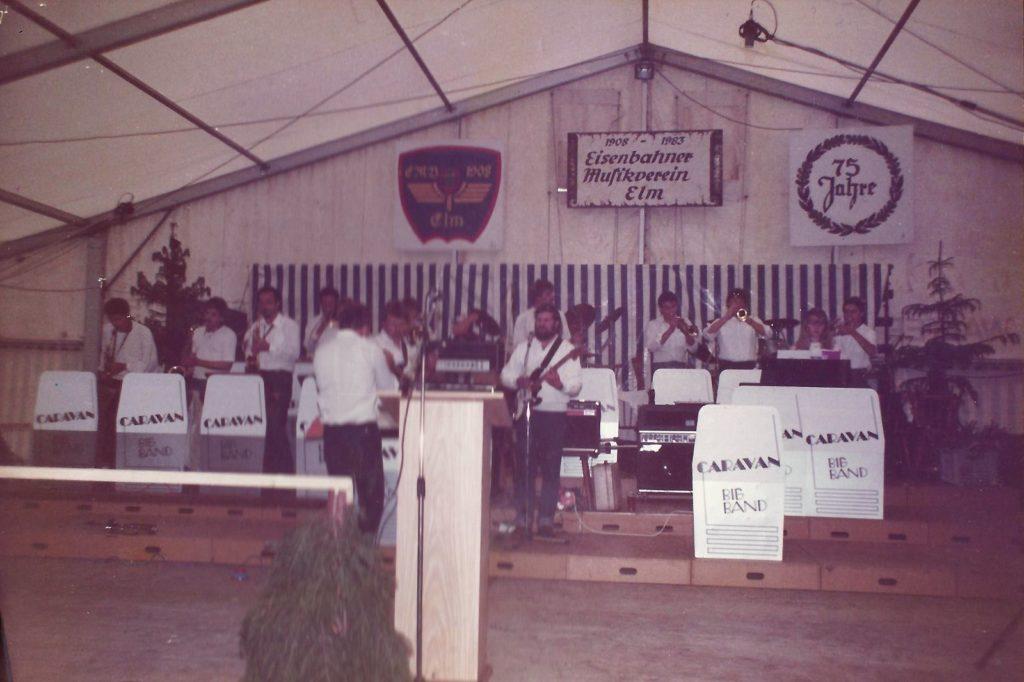75-jähriges Jubiläum Eisenbahner Musikverein Elm