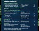 Jugend Jazzt - Die Preisträger 1997 - Back