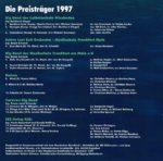 Jugend Jazzt - Die Preisträger 1997 - Inlay1