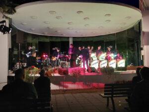 Die Caravan Big Band und ihr Solist Andreas Leibold